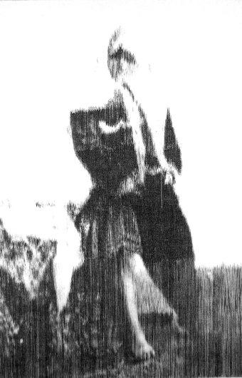Ukjent iransk kvinne, 170 x 120 cm, innkjøpt av Haugesund billedgalleri